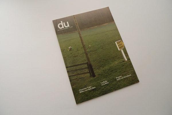 du; Christian Vogt: Bilder aus dem Jura