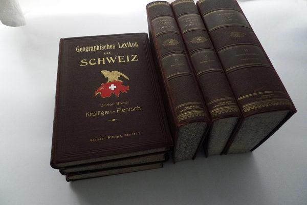 Geographisches Lexikon der Schweiz; 6 Bände