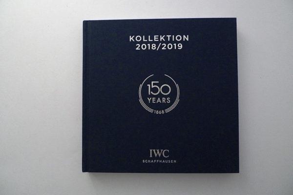 IWC Katalog, 150 Jahre