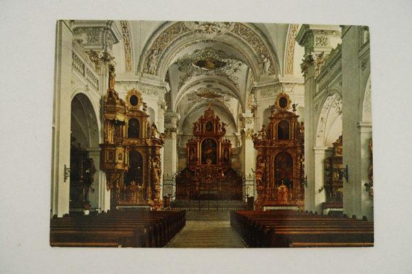 Disentis - Inneres der Klosterkirche