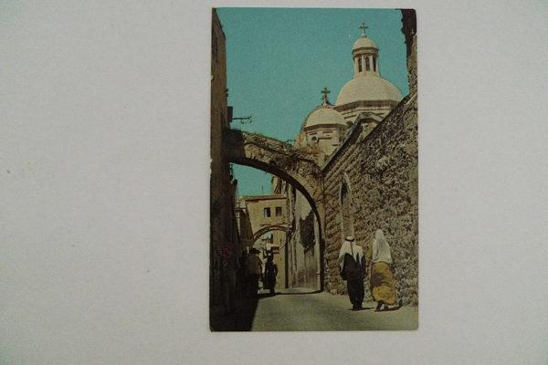 La via Dolorosa - Jerusalem
