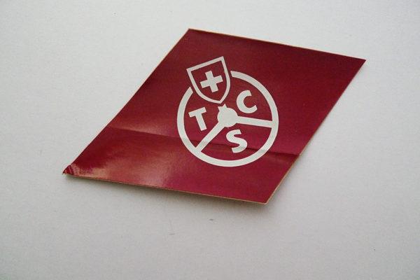 TCS Abziehbild