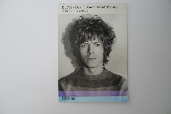 du; David Bowie. Beruf: Popstar