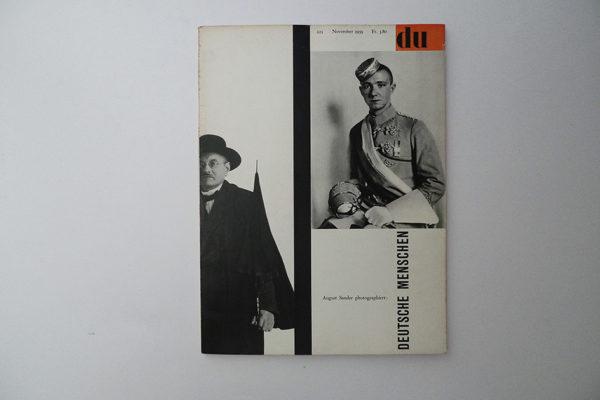 du; August Sander photographiert: Deutsche Menschen