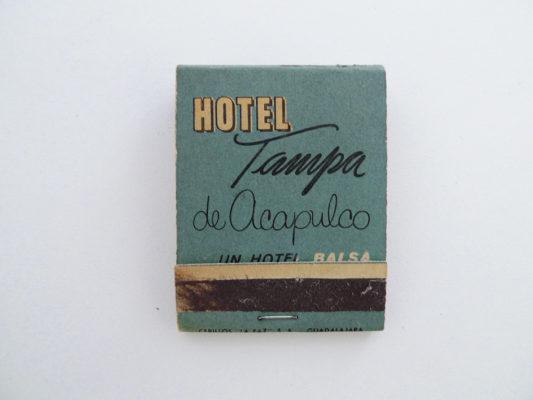 Zündholzbriefchen Hotel Tampa, Acapulco