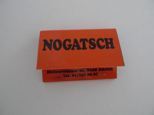 Zündholzbriefchen Nogatsch