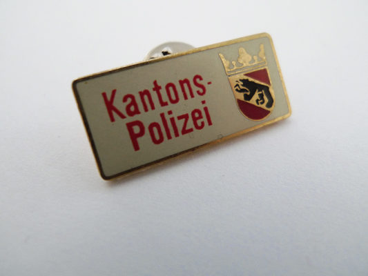 Pin Kantonspolizei Bern