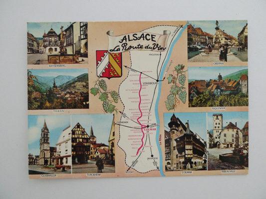 ALSACE; La Route de Vin