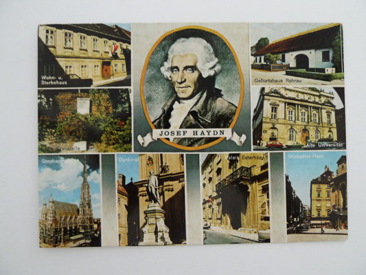 Joseph Haydn; Tondichter