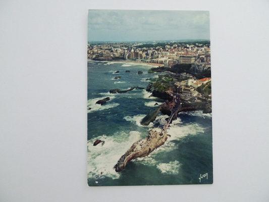 La côte Basque; Biarritz