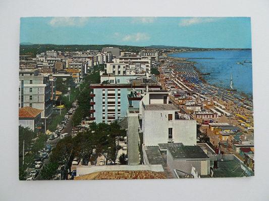 Cattolica, Panorama und Hotel