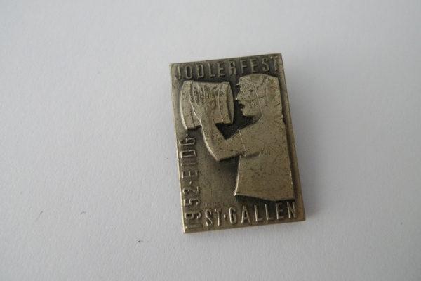 Pin Jodlerfest 1952 St. Gallen