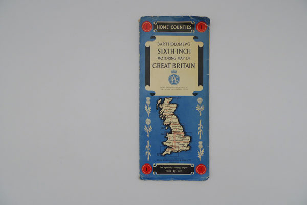 Motoring Map of Great Britain