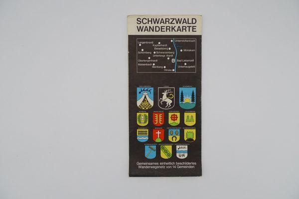 Schwarzwald Wanderkarte