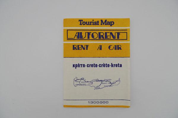 Tourist Map Kreta - crete