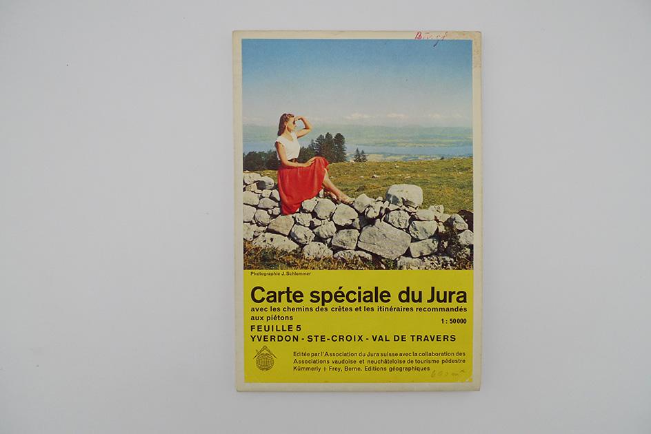 Carte spéciale du Jura