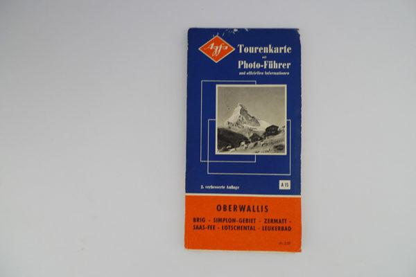 Agfa Tourenkarte Oberwallis