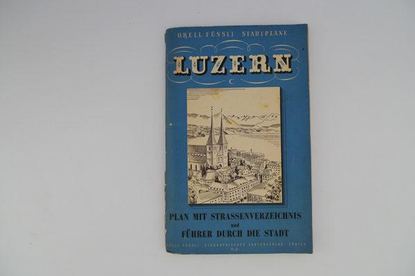 Luzern - Plan und Führer