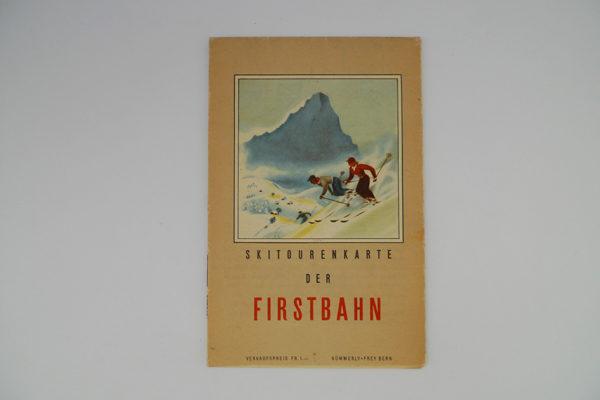 Skitourenkarte der Firstbahn