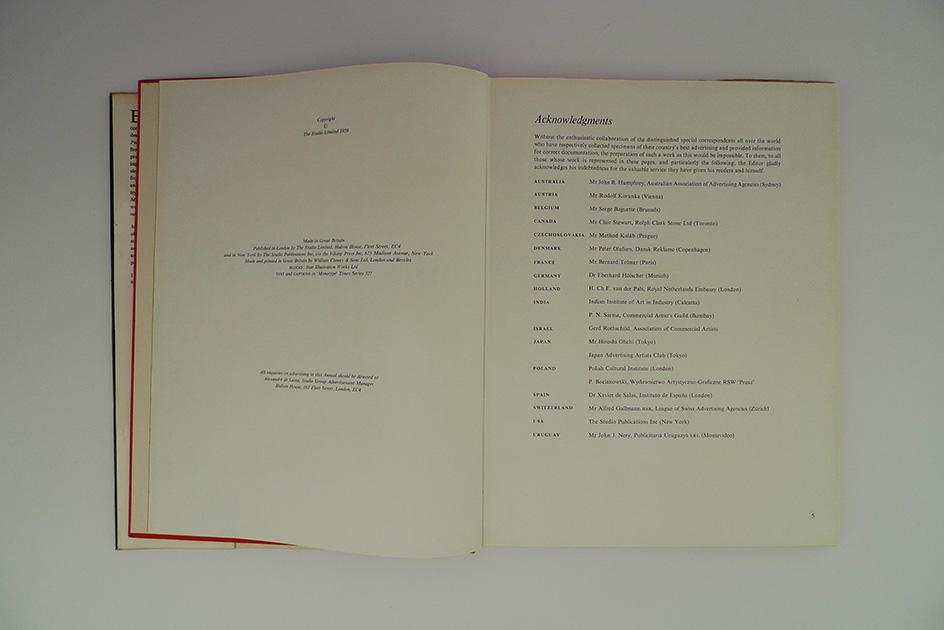 Modern Publicity 1959-1960