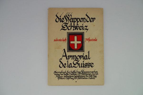 Die Wappen der Schweiz - Armorial de la Suisse