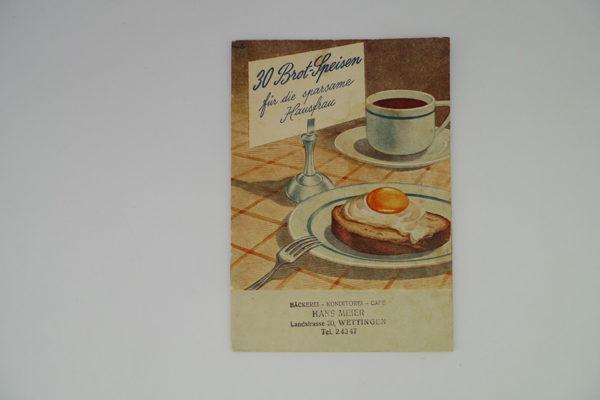 30 Brot-Speisen für die sparsame Hausfrau