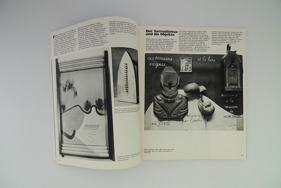 du; Objekt und Objekt-Besessenheit in der Kunst von Dada bis Pop