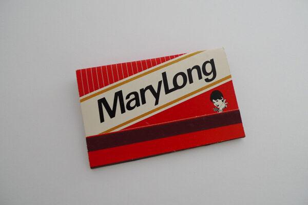 Zündholzbriefchen Mary Long