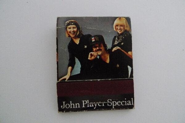 Zündholzbriefchen John Player Special