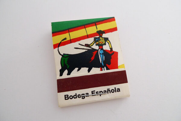 Zündholzbriefchen Bodega Espanola