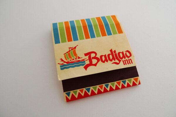 Zündholzbriefchen Badjao Inn