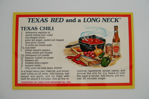 Texas red and long neck