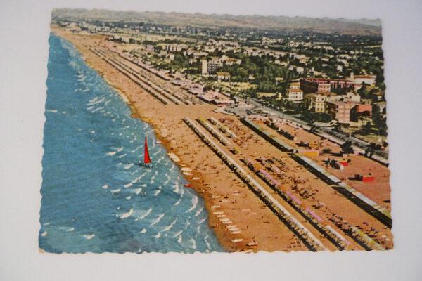 Riccione; Blick auf den Strand