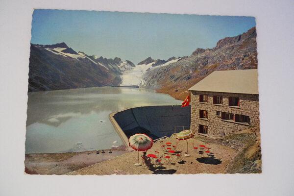 Stausee und Berghaus Oberaar, 2340m