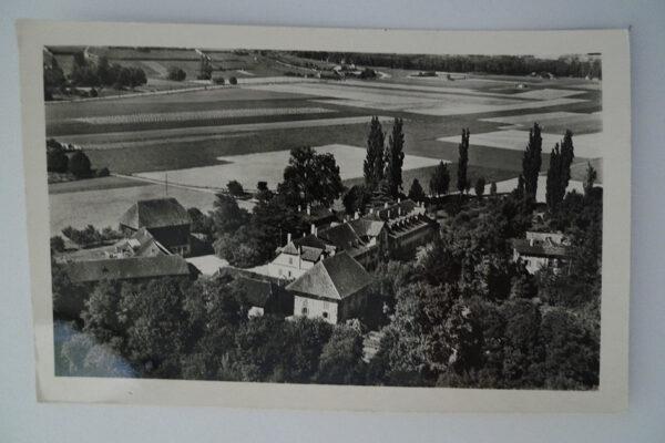 Vue aérienne de Grandchamp