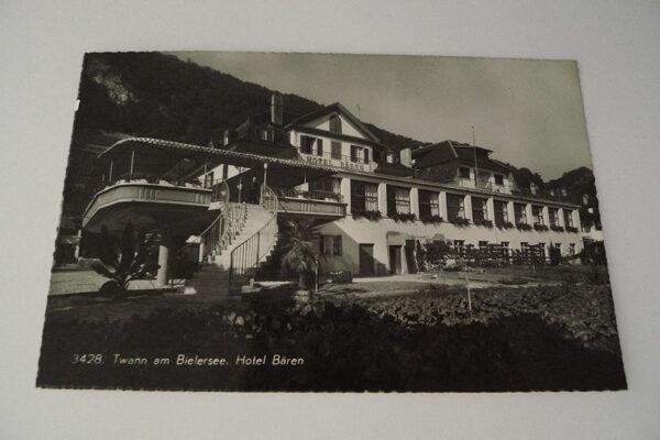 Twann am Bielersee. Hotel Bären