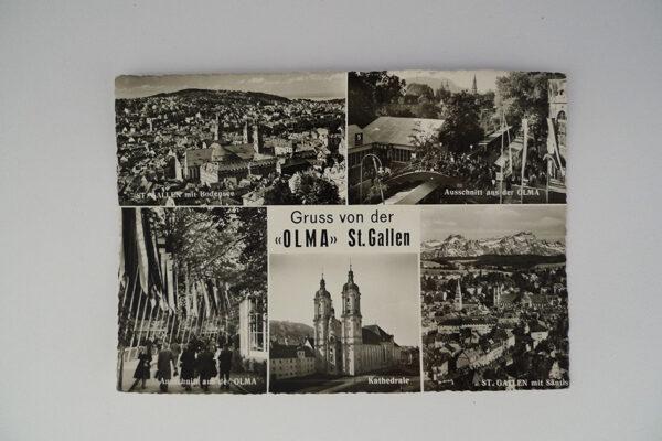 Gruss von der «OLMA» St. Gallen