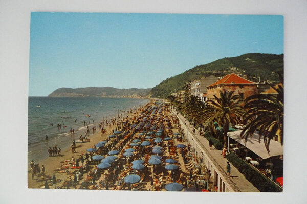 Alassio; Der Strand