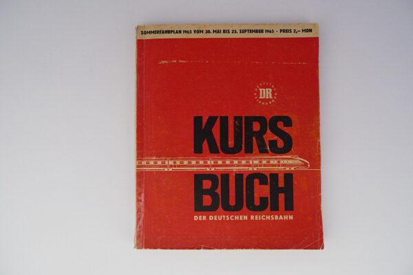 Kursbuch der Deutschen Reichsbahn