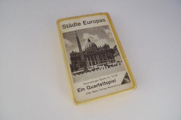 Quartett Städte Europas