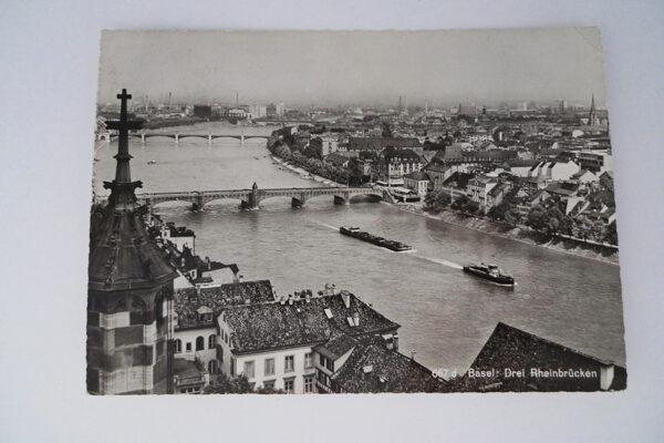 Basel, Drei Rheinbrücken