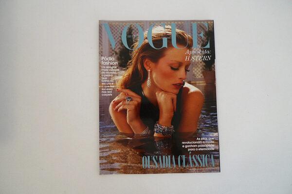 Vogue Brasil; Apresenta H. Stern