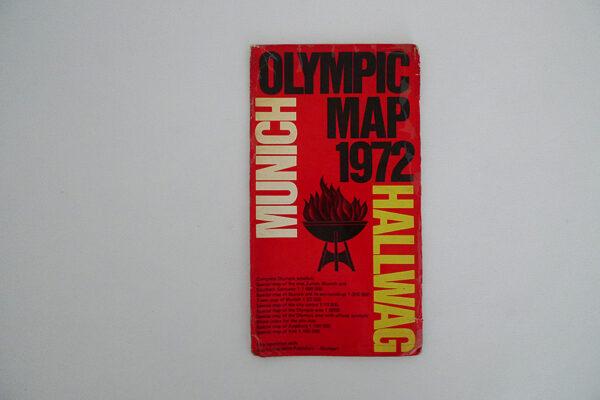Olympia Karte 1972 München