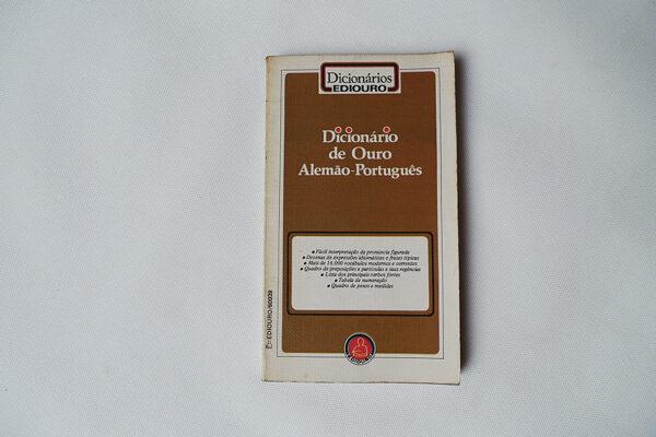 Dicionário de Ouro; Alemão - Português
