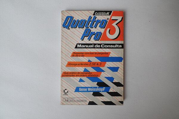 Quattro Pro 3; Manual de Consulta