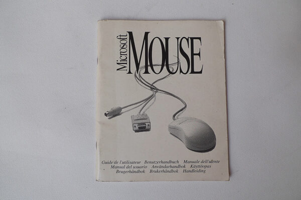 Microsoft Mouse with IntelliPoint Software