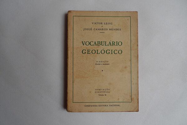Vocabulário Geológico