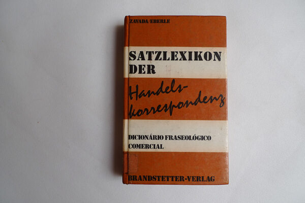 Satzlexikon der Handelskorrespondenz