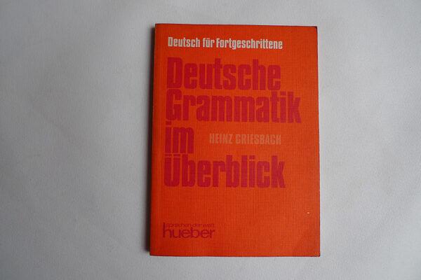 Deutsche Grammatik im Überblick