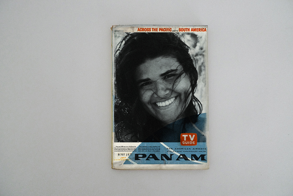 Pan Am «TV GUIDE and System Time Table»